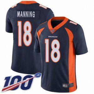 Broncos Peyton Manning 100th Season Jersey